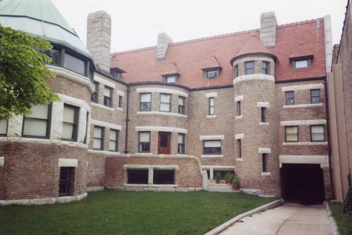 Prairie district neighborhood alliance architecture for Glessner house